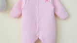 養眼小萌娃日常穿搭很潮,清新保暖連體哈衣,將寶貝的萌範最大化