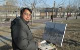 楊誠在金隅寫生中央美院