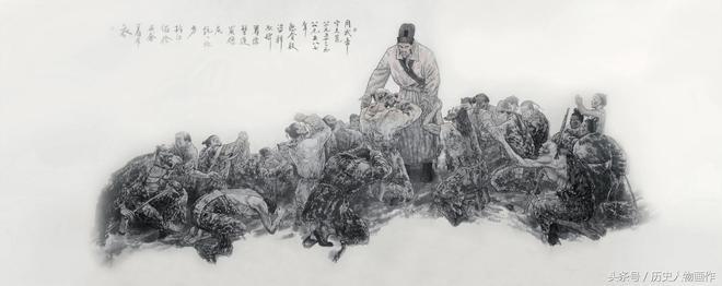 《中國帝王圖北周武帝宇文邕 》趙開雷作品欣賞