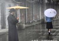 撐一把雨傘,走一段最美的時光迴廊