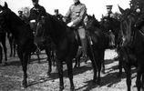 老照片:1910年清朝陸軍大臣載濤訪問法國