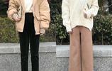 小個子女生大衣+內搭的冬季穿搭,讓你穿出仙女範兒