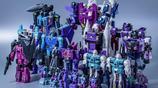 變形金剛動漫人物:不同顏色組合的汽車人與霸天虎-老玩具回顧