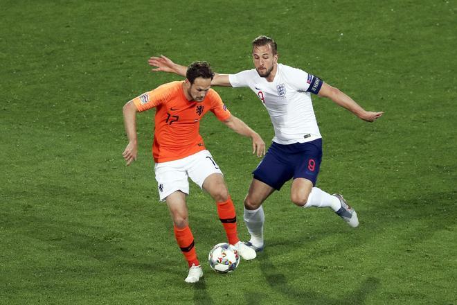 足球——歐洲國家聯賽:荷蘭勝英格蘭