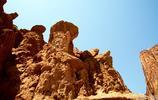 大自然的鬼斧神工——庫車天山大峽谷