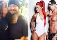 WWE讓米茲頭疼的事,老婆當年的輕狂!