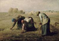 西方著名油畫欣賞:米勒《拾穗者》