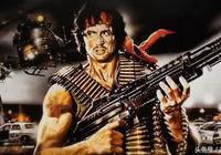 《第一滴血》——蘭博(史泰龍)的武器