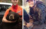 美國小夥打獵遭遇黑熊,小夥徒手將400斤黑熊制服