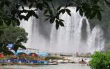 德天瀑布 堪稱為世界第二大跨國瀑布氣勢磅礴、銀瀑飛瀉
