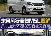 東風風行菱智M5L圖解 尺寸加大/不足8萬/宜家又宜商