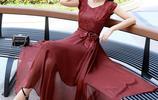 高檔真絲連衣裙,比棉麻連衣裙清爽,比雪紡連衣裙透氣