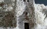 西伯利亞寒冬美景