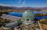 北京:航拍雁棲湖秋日美景