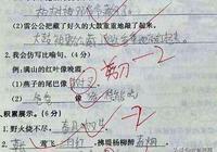"""小學生""""異想天開""""的造句和作文,讓他的語文老師能笑出眼淚"""