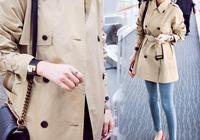 外套風衣女秋裝新款百搭 韓版