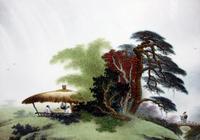中國 瓷版畫欣賞