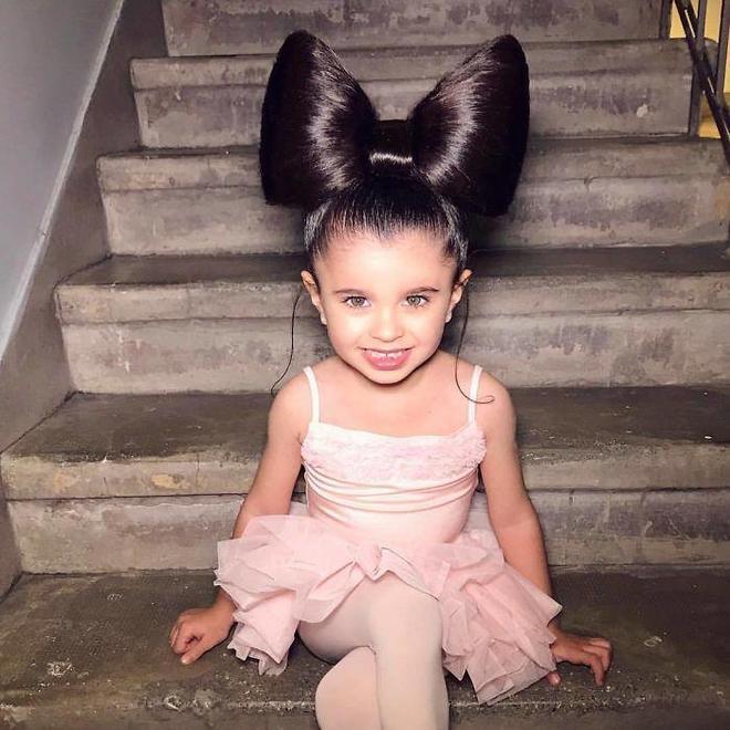 她年紀僅僅5歲,卻因為漂亮的頭髮成為時尚界網紅!