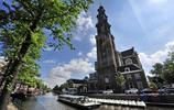荷蘭阿姆斯特丹運河風景
