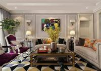 張家口錦匯度假苑別墅300平米美式混搭風格裝修案例效果 大包46萬