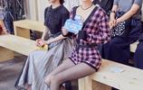"""""""素顏女神""""王麗坤與舒暢同框看秀,連體網襪短打Style驚豔全場"""