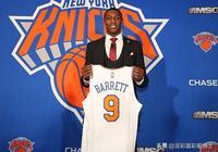 NBA官網---巴雷特:想帶領尼克斯奪冠 目標是歷史最佳