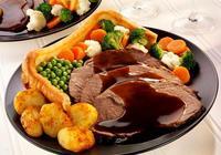 英國國菜與炸魚薯條