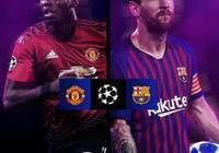2018-19賽季歐冠1/4決賽首回合:曼聯 vs 巴薩