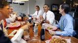 盤點:奧巴馬吃飯照,大口啃麵包,多數為親民的簡單便飯照