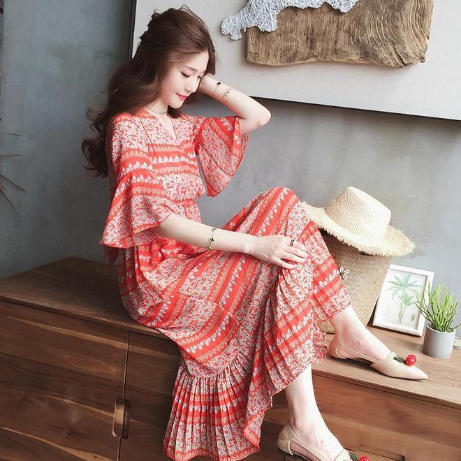 美美的夏天,美美的連衣裙,美美的你