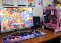 果然粉色才是玩家最愛 粉色D.va主題機箱