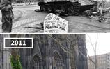 時空交錯,歐洲二戰時拍的戰爭照片和現在同一地點的對比