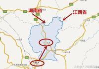 廣東省一個縣,人口僅23萬,同時接壤江西和湖南!