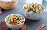 1碗米飯里加了6種食材,怪不得那麼香!簡單,好吃,又好看!