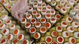 湖南張家界:糯米臘肉鹹鴨蛋清明美食迎客來