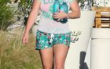 女星布蘭妮·斯皮爾斯現身洛杉磯,她的變化有點大