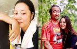 王茜華全家近照,素顏白皙水嫩,與二婚老公同框似父女,兒子可愛更像媽