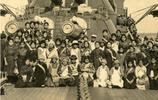 日本首艘國產戰艦,號稱當時世界最強,23位艦長中有一位是美國人