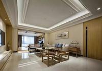 你與高逼格客廳裝修之間,只缺一張實木沙發,很實在的美,瞭解下