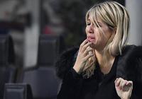 難掩失望,伊卡爾迪妻子旺達淚送國米出局