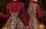 傳統的連衣裙過時了,今秋流行玉羲重工鑲鑽拼接連衣裙,氣質顯瘦