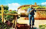 上色老照片:9.18事變前,日本間諜在中國農村拍攝的照片(2)