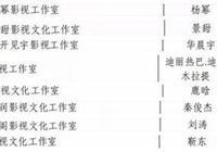 2018年橫店納稅百強榜:張藝興第一,楊冪、景甜緊隨其後