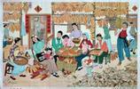出版於上個世紀70年代的宣傳畫,畫風精美現在的藝術家也畫不出來