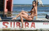 女星伊利莎貝塔-格里格拉西,悠然享受陽光!