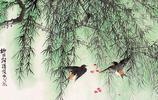 國畫美圖大賞:春天裡看國畫上的報春燕子!收!
