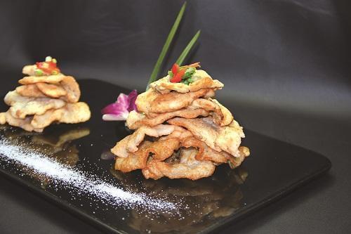 蒜香濃郁脆魚片 蒜香魚片(獨家)