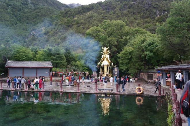 風景圖集:玉水寨,成為麗江主要旅遊景區