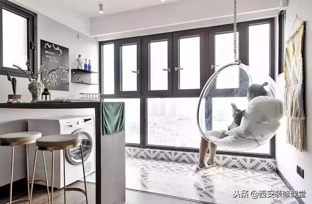 45款客廳都不裝陽臺門,有顏值且實用