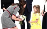 凱特王妃身穿古奇連衣裙,參加活動,看起來有點小駝背